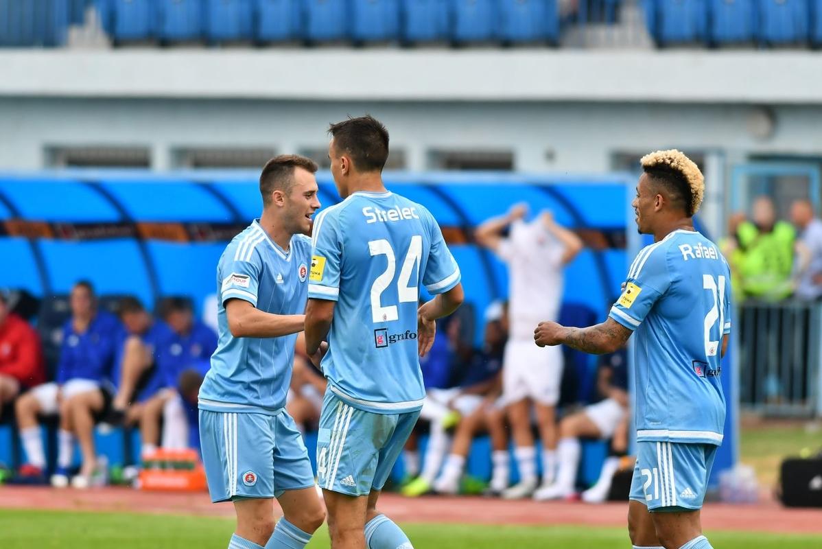 95f6120f6de15 Belasí zvíťazili nad Baníkom Ostrava :: ŠK Slovan Bratislava ...