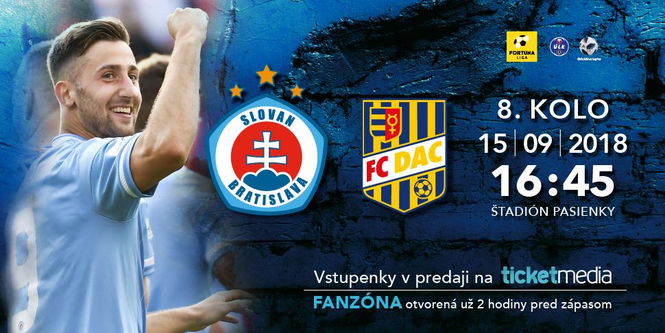 952baf2717769 Vstupenky na šláger Slovan - DAC v predpredaji :: ŠK Slovan ...