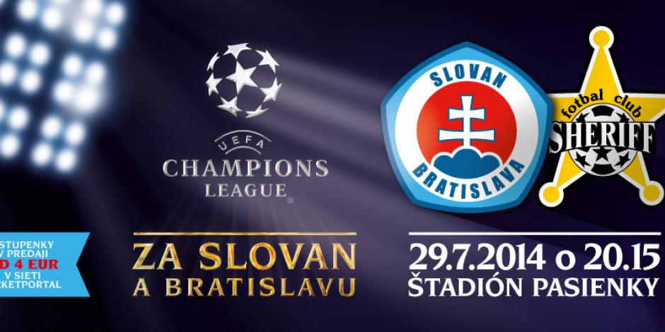 788f594da2 Vstupenky na 3. predkolo Ligy majstrov v predaji    ŠK Slovan ...